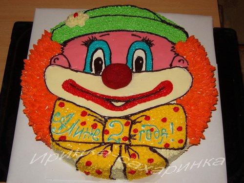 Раскраска онлайн оформление торта